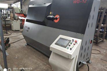 továrenské ceny s dvojitým drôtom automatický ohýbací stroj