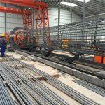 najlepšie ceny zvárané drôtené pletivo roll stroje, vystuženie zväzku zváracích švov priemer 500-2000mm