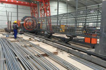 Najlepšie cenovo zvárané drôtené pletivo roll stroj, vystuženie zväzku zváracích švov priemer 500-2000mm