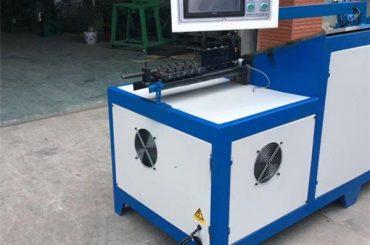 6mm oceľový drôt ohýbačka stroj univerzálny nerezový košík CNC drôt ohýbačka